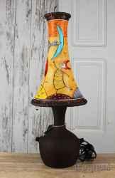 Ceramic lamp 'Sweetheart moon'