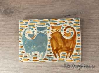Ceramic wall panel