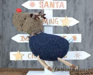 Коледно еленче за елха
