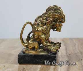 Bronze sculpture'Lion'