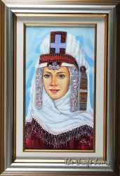 Girl In Bulgarian National Costume