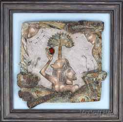 Керамично пано 'Райската градина'