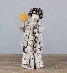 Ceramic sculpture 'Angel '