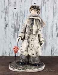 Ceramic sculpture 'The little prince'