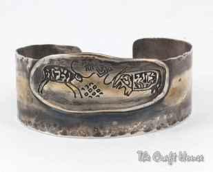 Silver brecelet 'Prehistory'