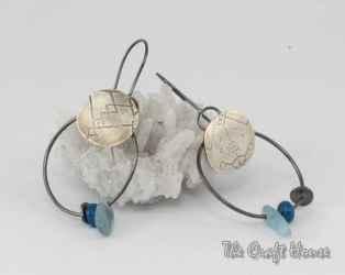 Сребърни обеци с берберски мотиви