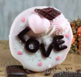 Свещ торта 'Любов'