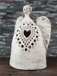 Пластика - свещник ' Ангел '
