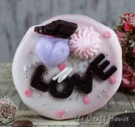 Торта свещ 'Любов'