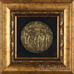Bronze plaque 'Thracian motifs'