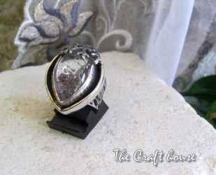 Сребърен пръстен с Рутил кварц