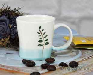 Чаша от порцелан с рисунка
