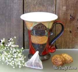 Керамична чаша за чай