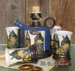 Керамичен комплект за ракия