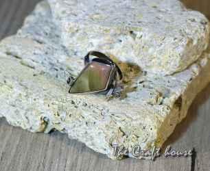 Сребърен пръстен с Яспис